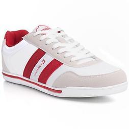 Alpine Swiss Haris Mens Retro Striped Athletic Shoes Fashion