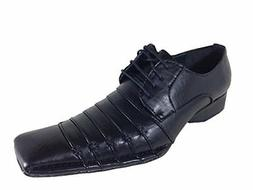 Enzo Romeo Harlem Men's Dress Shoes Fashion Casual Pleated L