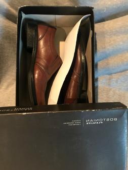 Bostonian Hazlet Step Slip On Shoes Leather Mens Dress Shoes