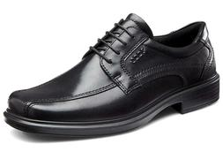 ECCO Helsinki Mens Leather Black Lace Dress Shoes Oxford Bra