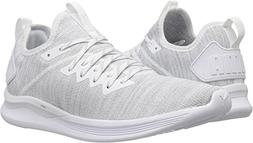 PUMA Women's Ignite Flash Evoknit Sneaker, White, 8 M US