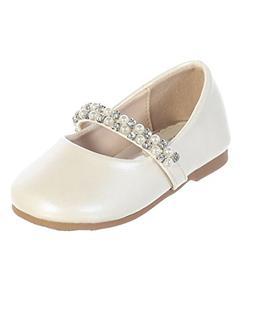iGirldress Infant Toddler Girls Straps Flower Girls Shoes S1