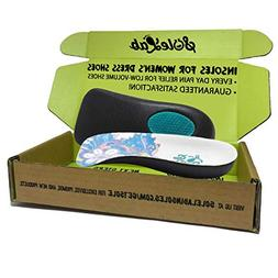 Insoles for Womens Dress Shoes :: 1/2 Length :: Comfort :: O