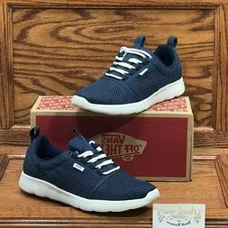 Vans Iso Sport Toned Dress Blues Shoes Size Men 9 Women 10.5