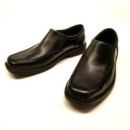 Nunn Bush Jefferson 84222-001 Mens Black Leather Slip On Dre