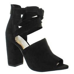 Jessica Simpson Kandiss Women's Open-Toe Block Heel Dress Sh