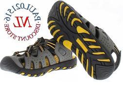 kids boys closed toe sport sandal shoes
