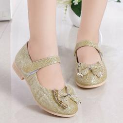 For Kids Girls Students Party Shoes Children Princess Shoes