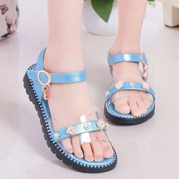 Kids Princess Sandals Children Girls Dress Shoes for Summer