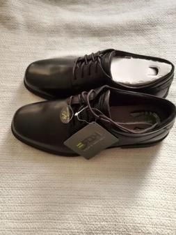 NUNN BUSH KOREMen's Black Leather Dress Shoes Slip Resis