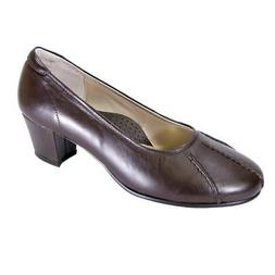 PEERAGE Kori Women Wide Width Contemporary Elegant Leather C