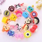 10 pcs Cute Cartoon USB Charger Cable headphones line Saver