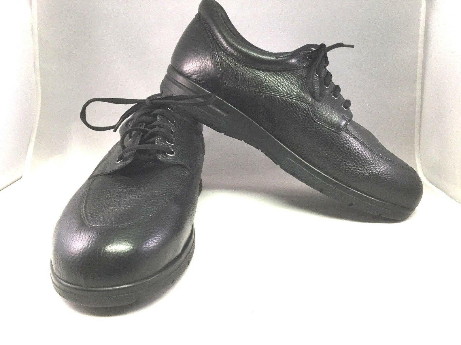 Drew 13 6E XXW  Men's Black Walker II Shoes Therapeutic