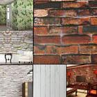 45CM*1000CM 3D Wallpaper Brick Pattern Self-adhesive Waterpr