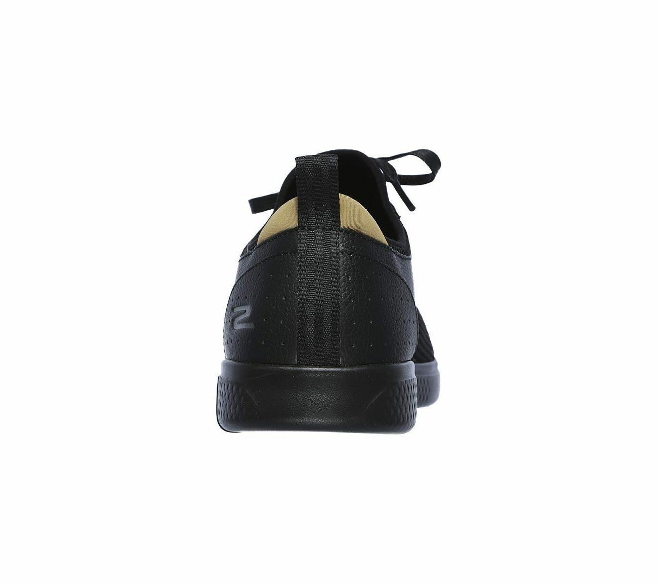 55461 Black Skechers Men Glide Sporty Dress