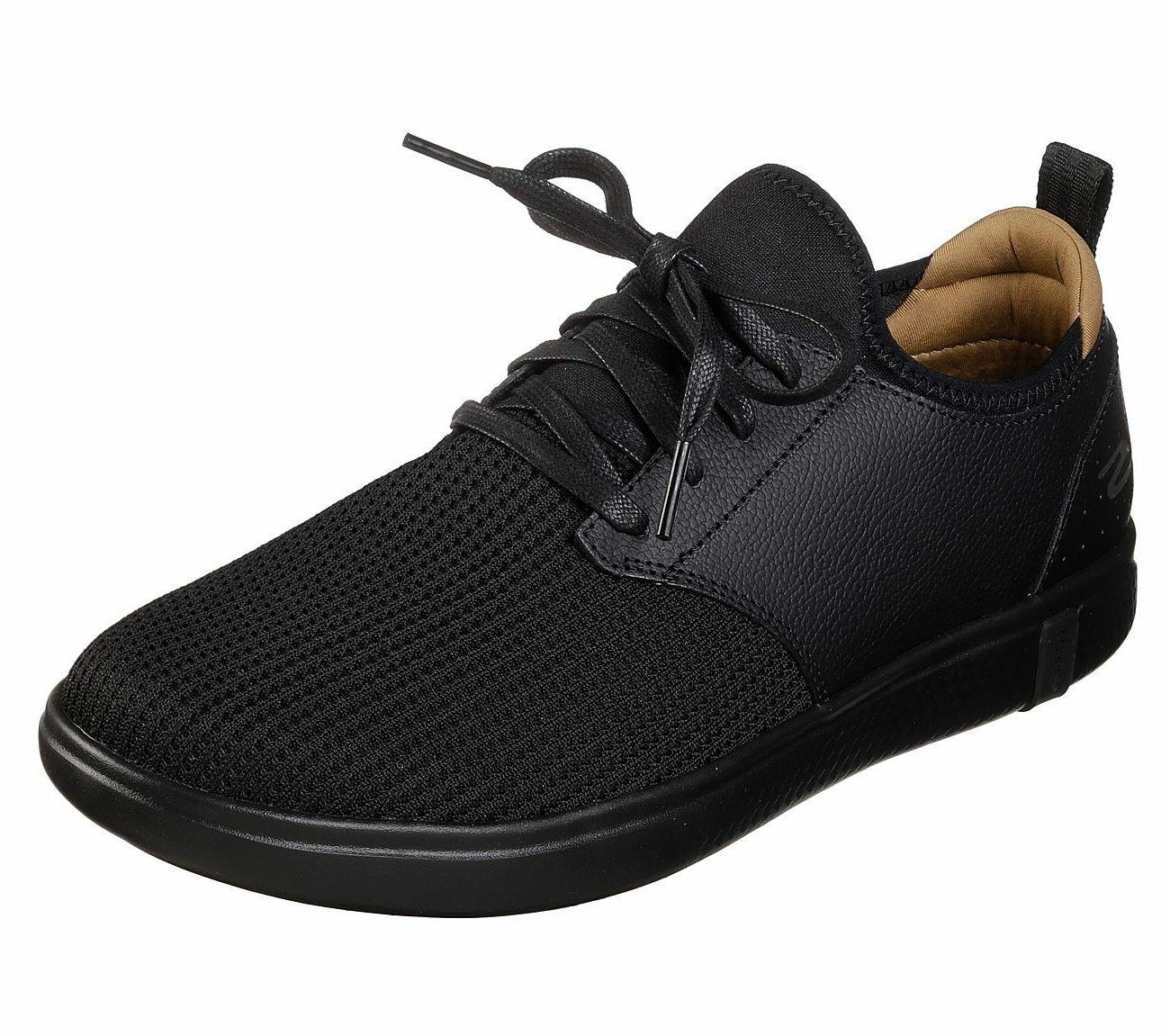 55461 black shoes men casual comfort go