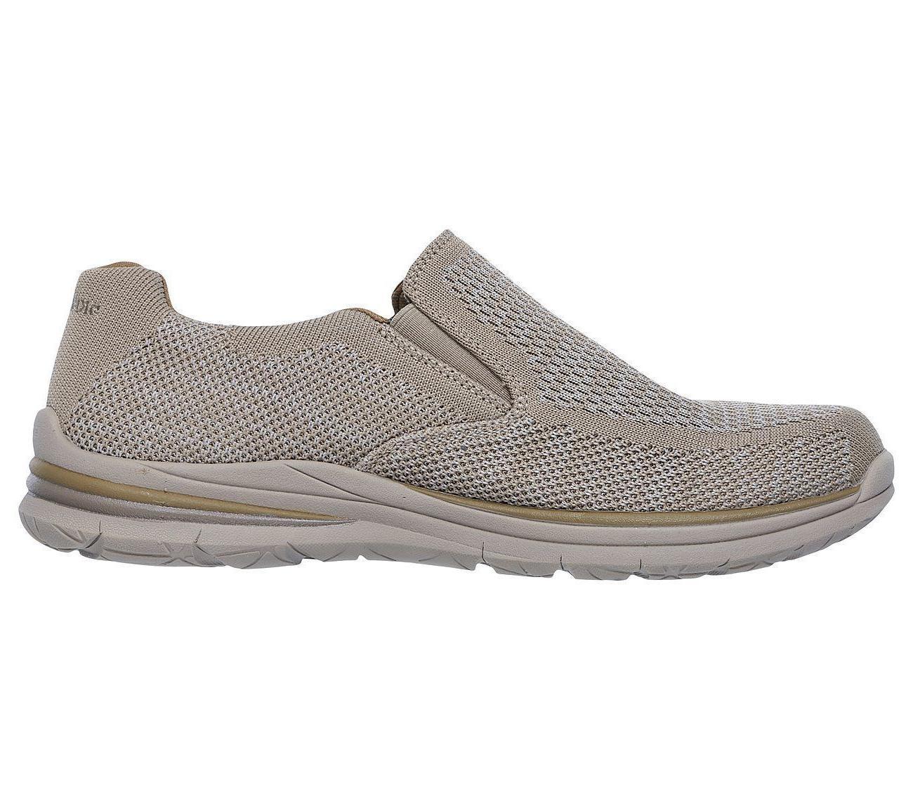 Denim Taupe Shoes Men Casual Loafer Slip On
