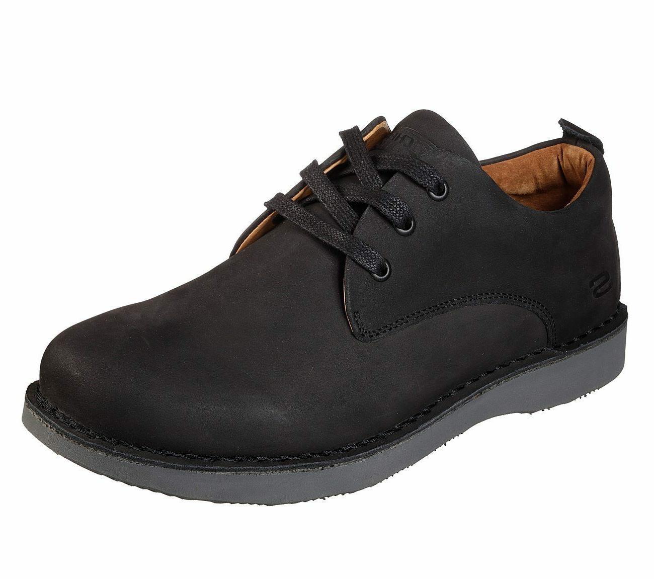 65307 bkgy black shoe men memory foam