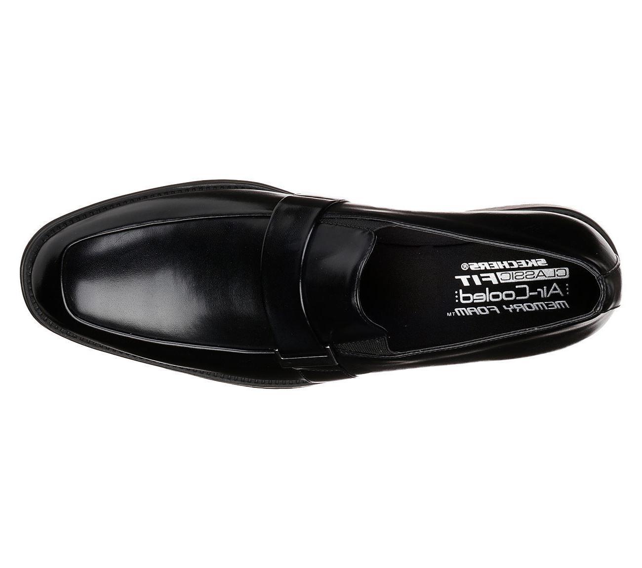 65541 Skechers Men Memory Dress Soft Loafer