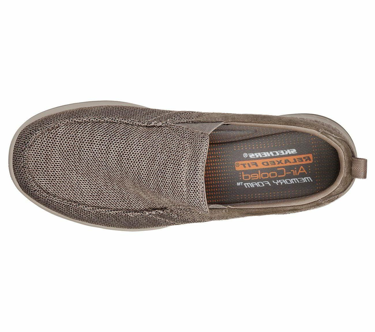 Men Memory Casual Comfort Woven Mesh Slipon
