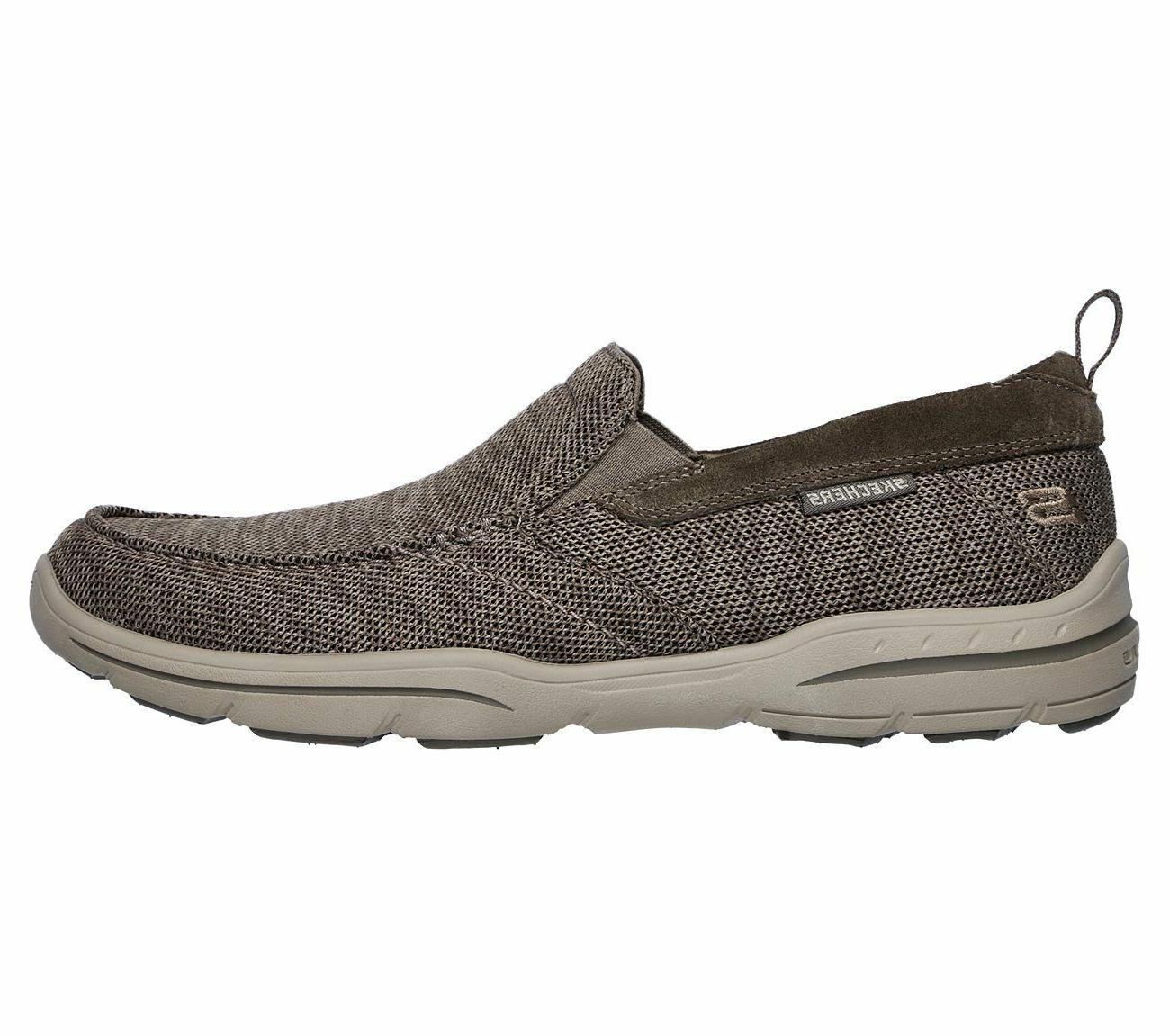 65626 Skechers Men Foam Casual Comfort Woven