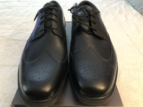 abraim men s oxford dress shoes black