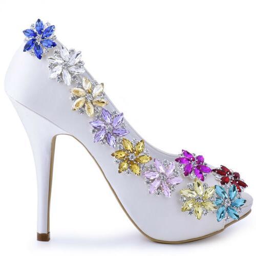 AJ Shoes Dress Hat Accessories Fashion Shoe Clips