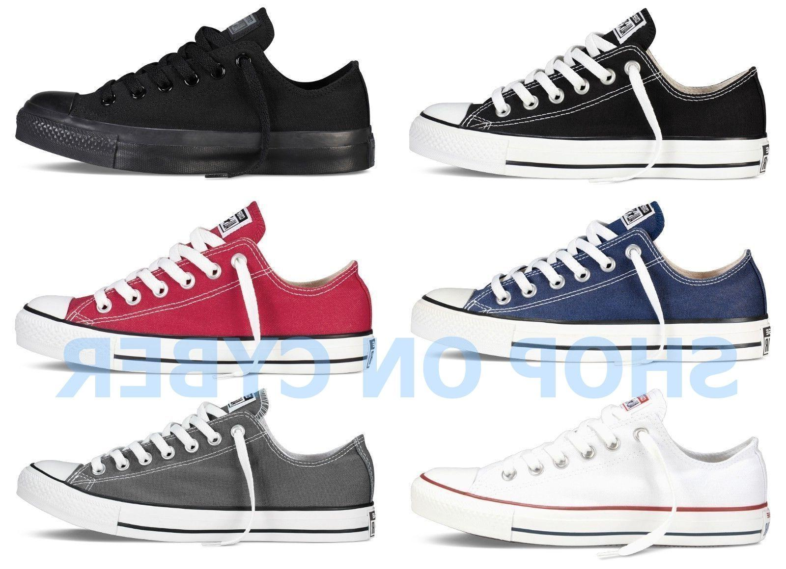all star chuck taylor canvas shoes low