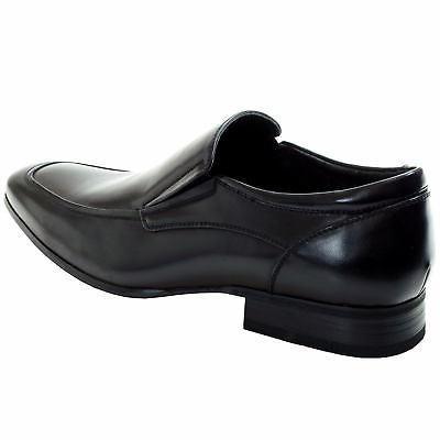 AlpineSwiss Lucerne Mens Shoes Slipon Moc Toe Leather Formal