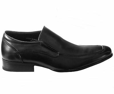 AlpineSwiss Mens Shoes Slipon Leather Loafers