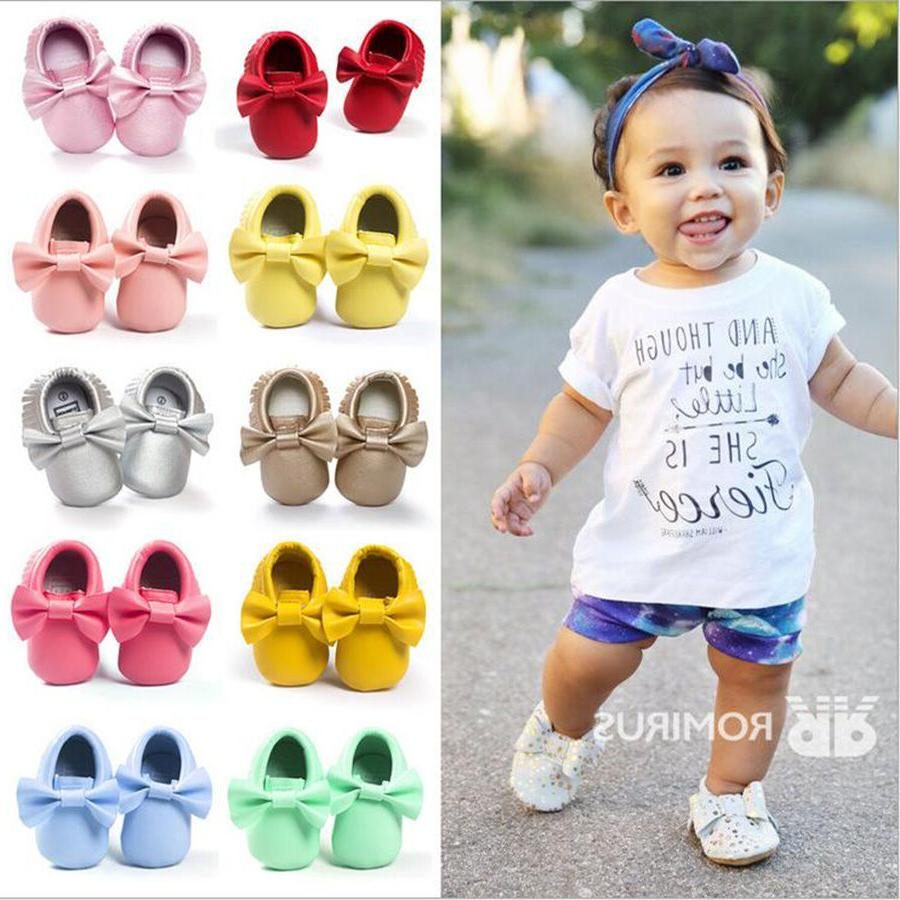 Baby Shoes Newborn Infant Pram Mary Jane Girls Princess Mocc