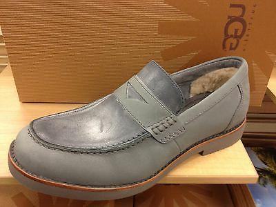 UGG Australia Barren Slip On Penny Loafers Nubuck Dress Shoes