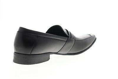 Calvin Klein Bartley Diamond Mens Black Dress Slip Loafers 15