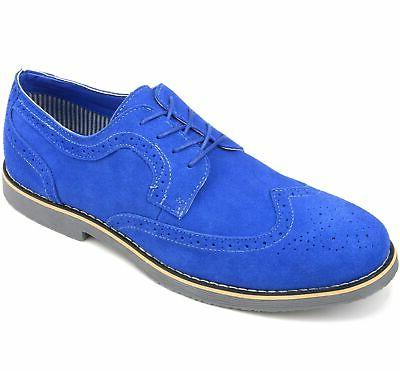 Alpine Beau Dress Shoes Genuine Wing Lace Up