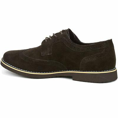 Alpine Swiss Dress Wing Tip Lace Up Oxfords