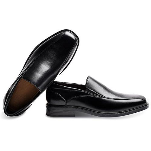 Men's Black Classic Formal Leader Shoes 9.5 US