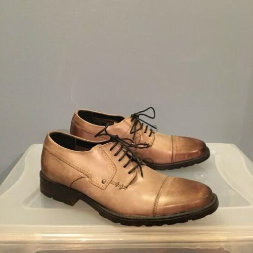 Clarks Bostonian Denton Cap Toe US 8 Dress Casual Shoe Men T