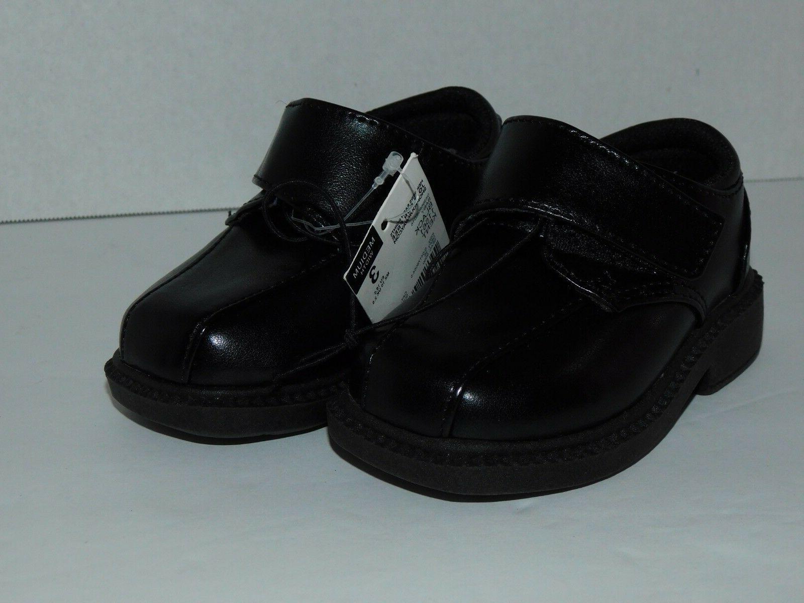 Boys Infant Toddler Dress Shoes 2 Black Holiday