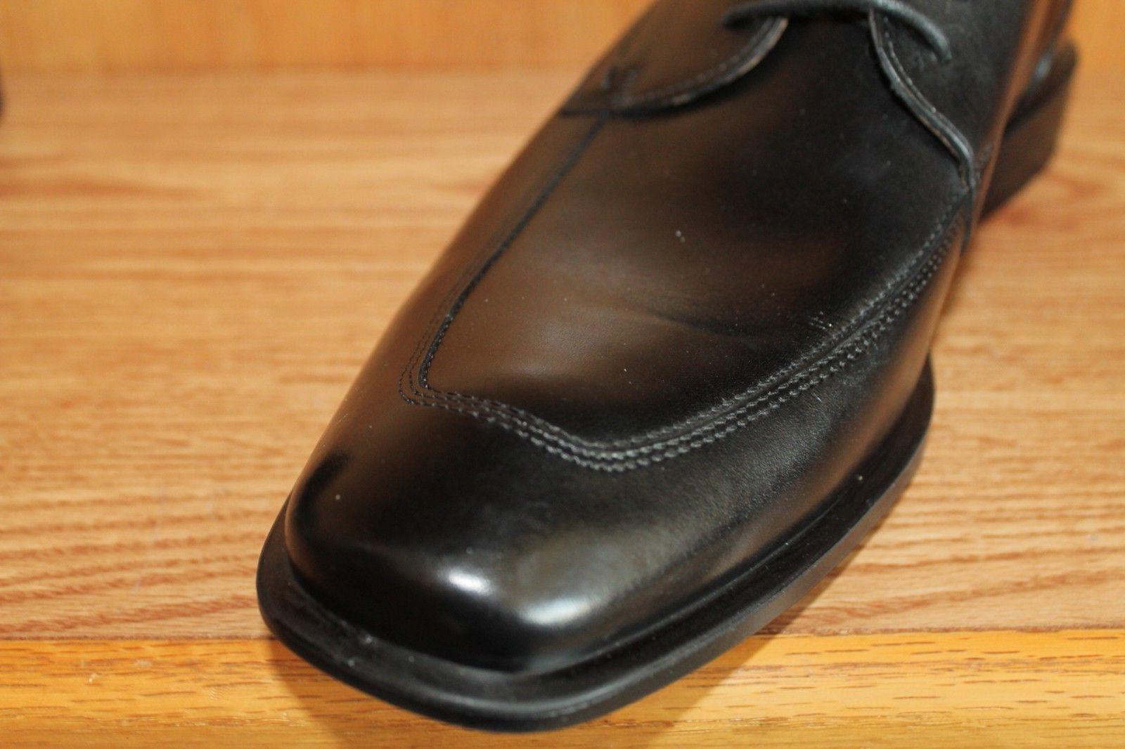 BRAND ECCO CAIRO APRON TOE BLACK DRESS Shoes Size Med