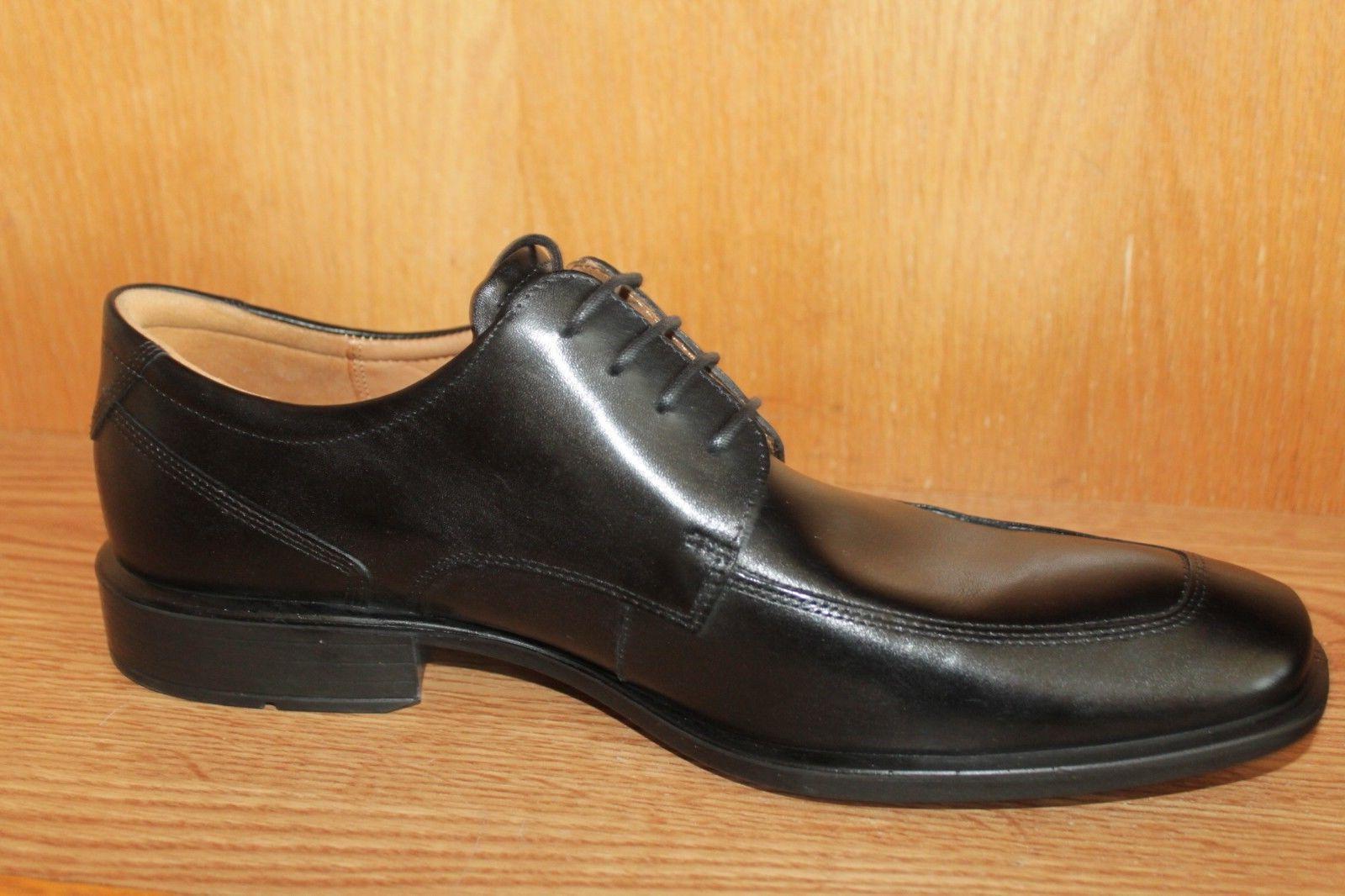 BRAND NEW!!! ECCO APRON TOE BLACK DRESS Shoes Med EU