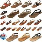 Brand New Women Gladiator Sandals Shoes Thong Flip Flops Fla