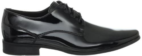 Calvin Men's Oxford,Black Patent,9