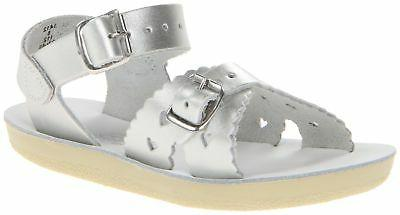 Salt Water Sandals by Hoy Shoe Sweetheart Dress Sandal ,Shin