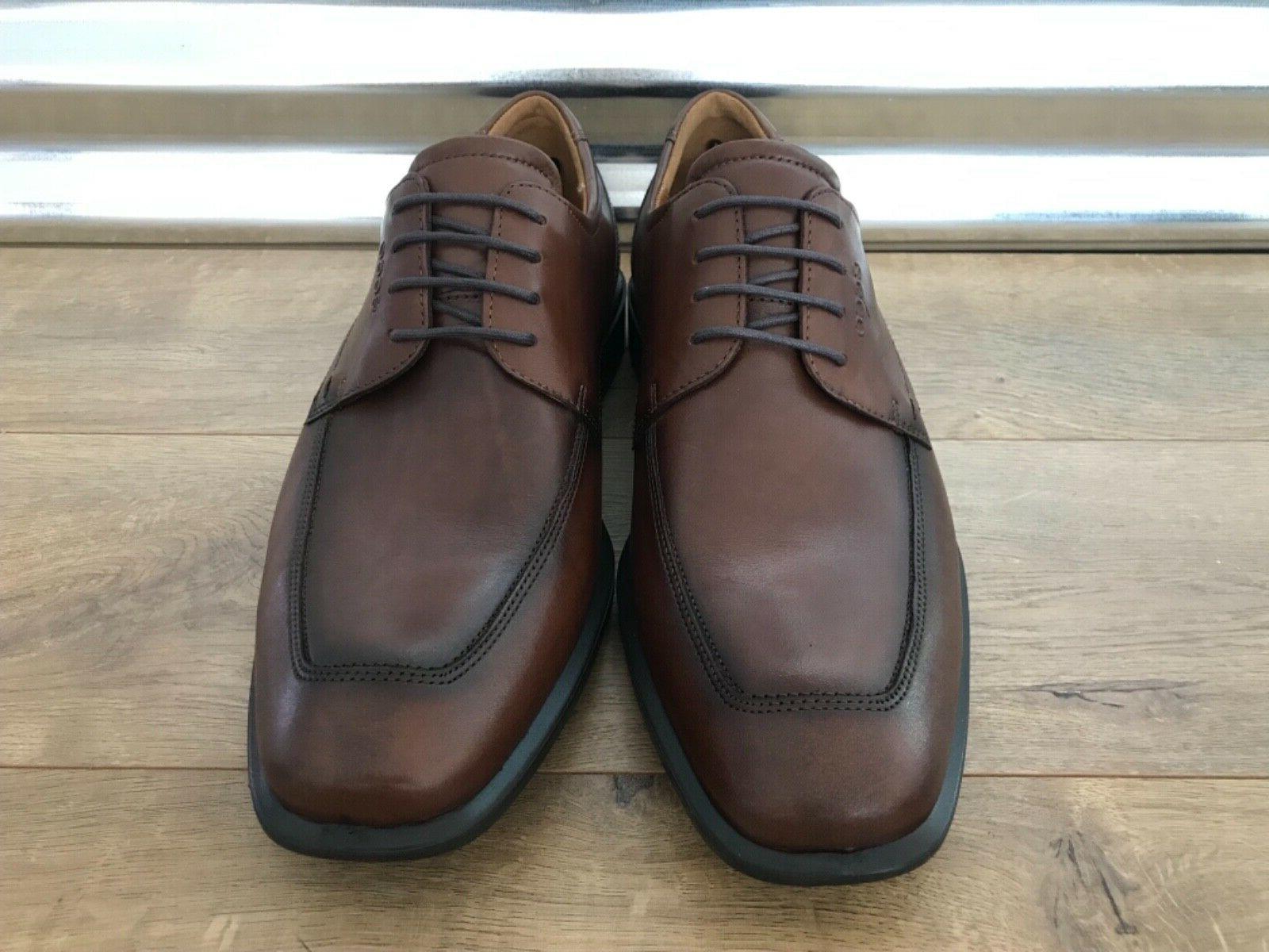 ECCO Leather Brown Black
