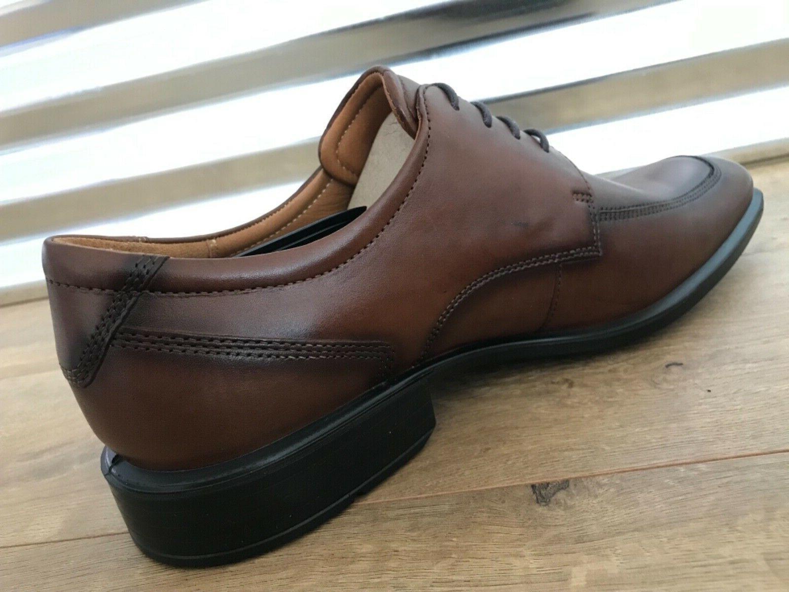 ECCO Apron Leather Walnut Brown