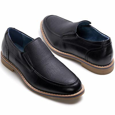 Alpine Swiss Carter Slip Dress Shoes Leather