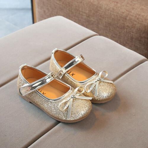 Girls Shoes Kids Bowknot Flats
