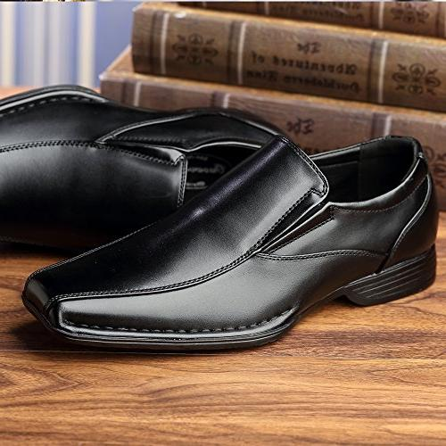 OUOUVALLEY Classic On Leather Loafer OUOU-004 Black)