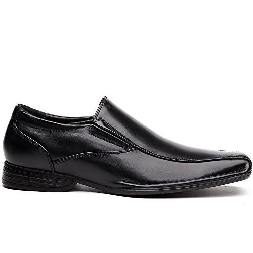 OUOUVALLEY Classic On Lining Modern Loafer OUOU-004 US, Black)