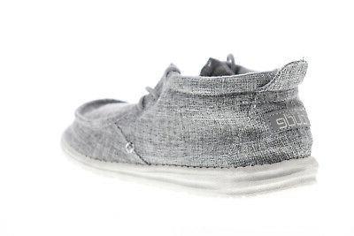 Hey Dude Conrad 111663901 Gray Surf Casual Shoes